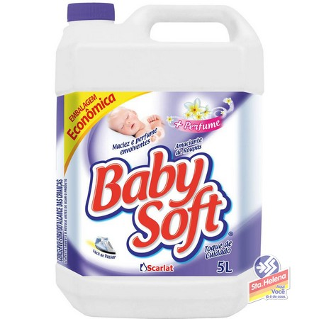 AMAC BABY SOFT TOQUE CUIDADO 5 LITROS